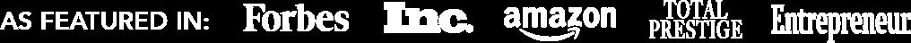 Portland SEO Agency Credibility Forbes Inc Entrepreneur Amazon Total Prestige Magazine